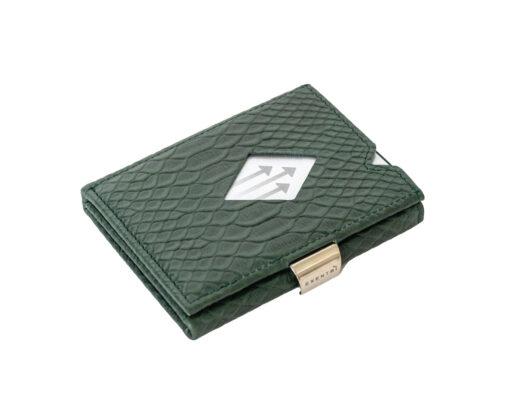 exentri kaarditasku rahakott roheline kobra