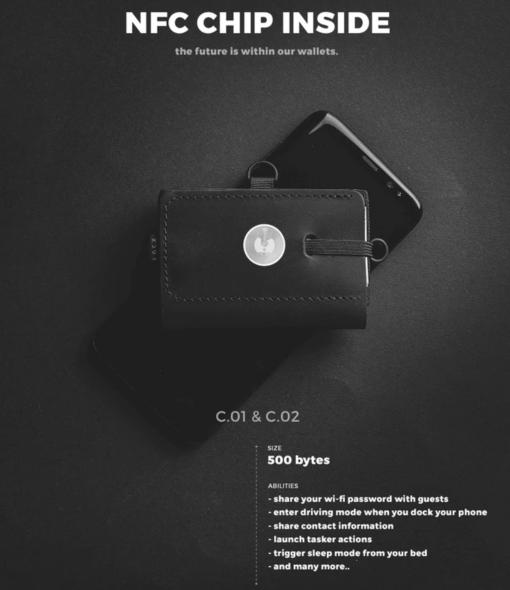 NFC kiibiga rahakott